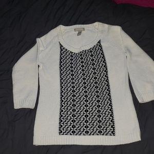 Banana Republic Sweater 3/4 Length Sleeve
